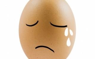 Depressed Egg Face