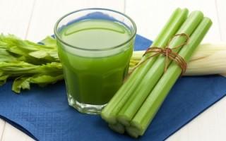 detox drink and vegetables